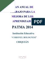 PATMA CCB 2014