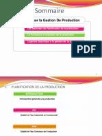 Gestion de Production 2013