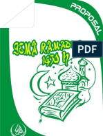 Proposal Ramadhan RISMA 1430H