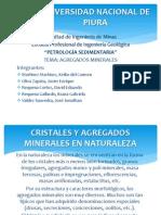 AGREGADOS MINERALES