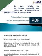 Determinação dos níveis de radioatividade natural presente nas águas utilizadas para o abastecimento público do estado de São Paulo