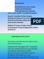 Sistem Demokrasi Indonesia