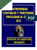 Controversias Contables Tributarias Cierre2012 Albertonue