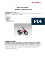 07 Honda Wave 110i INT