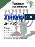 Bmidbar Ministries:Shemot Names