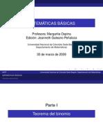 5. Teorema Del Binomio Documento PDF