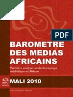Barometre Des Medias Africains (Mali)