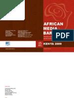 Barometre Des Medias Africains (Kenya2009)