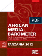 Barometre Des Medias Africains (Tanzania)