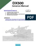 Manual de Dx500