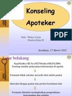Konseling Apoteker