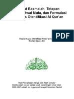 Matematika Al Qur'An