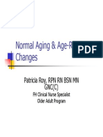 Normal Aging Age Related ChangesStudy Gp - Jan 9 11