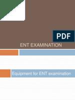 ENT Examination