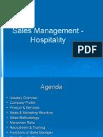 Sales Presentation - Hospitality