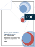 Background Material-FDI in Financial Services