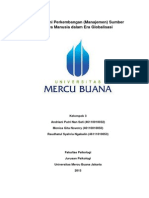 Memahami Perkembangan SDM Dalam Era Globalisasi