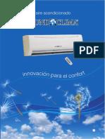Catálogo de productos de aire acondicionado (Mundoclima)