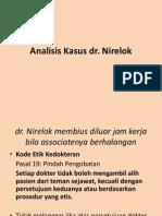 Analisis Dr Nirelok