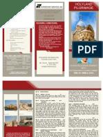 HOLYLAND Pilgrimage with Fr. Suarez 2014