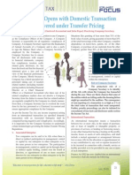 Transfer Pricing and Role of Company Secretary