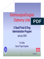 Electro Surgical Units
