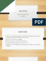 Algol Report