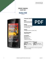 Nokia 500 RM-750 Service Manual L1L2 v1.0