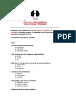 test, métodos y técnicas
