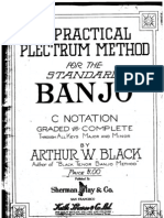Arthur W. Black -  Plectrum Banjo Method 1919