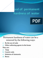 Removal of Permanent Hardness of Water