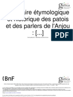 Glossaire étymologique et historique des parlers et patois de l'Anjou (A.-J. Verrier & R. Onillon, 1908) [Tome 2]