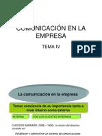 Tema 4 Comunicacion en La Empresa (1)