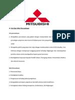 N Visi Dan Misi Perusahaan Mitsubishi
