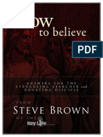 Steve Brown How to Believe