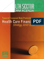 Health Care Financing Strategy 2010-2020 Philippines