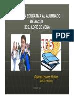 Atencion Educativa Al Alumnado de Altas Capacidades Intelectuales en El IES Lope de Vega