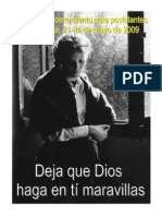 Ejercicios de Discernimiento Postulantes 2009