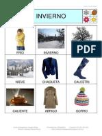 Bingo Invierno Fotos 3x3