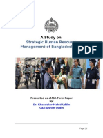 Case Study on HR Management of Bangladesh Police
