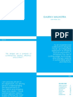 Selected Works Gaurav Malhotra 2013