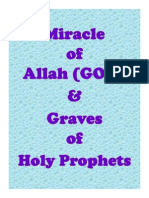 Miracle of Allah and Graves of Holy Prophets