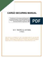 Cargo Securing Manual Csmtes