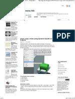 Move, Copy, Rotate Using Dynamic Handle on NX 6 Above ~ Unigraphics & Siemens NX Tutorial