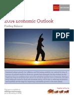 """Wells Fargo Securities, Dec 11, 2013.  2014 Economic Outlook, """"Finding Balance"""""""