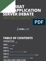 The Great Java App Server Debate