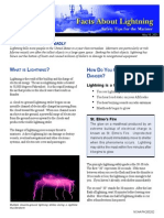 Lightning Facts Sheet