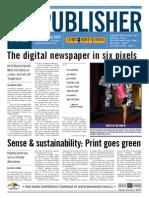portfolio sample no  7 - sense and sustainability-print goes green - published june 2009