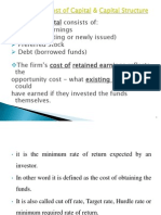 Cost of Capital of Mncs