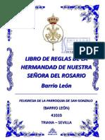 LIBRO DE REGLAS DE LA HERMANDAD DE NUESTRA SEÑORA DEL ROSARIO - 2013